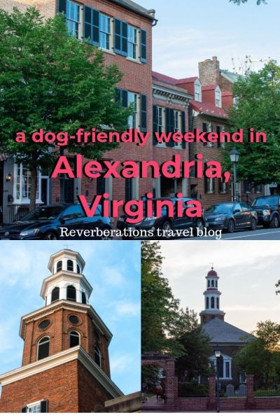 Old Town Alexandria, Virginia, is a charming small town that's dog-friendly. Here's what to see in Alexandria for a weekend, including nearby Mount Vernon. #alexandria #visitalx #virginia