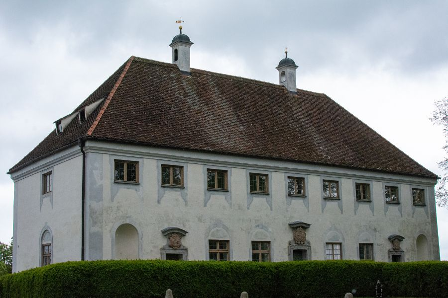 The Pfarramt, or parish office, at Kloster Andechs.