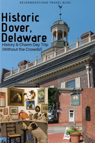 Explore Historic Dover, Delaware, with a day trip itinerary of places to eat and places to see, like Legislative Hall to Johnson Victrola Museum! #dover #delaware #usa