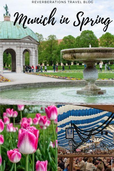 Warm temperatures and a return to the Biergarten: Munich in spring is simply lovely! Here's what you can expect with a visit to Munich in spring! #munich #bavaria #germany