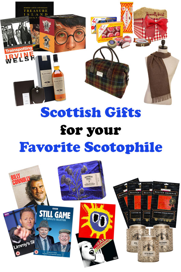 Looking for a gift for a special someone? Spoil someone dear to you with one of these unique Scottish gifts from tasty treats to wearable items! #scotland #gifts #giftguide