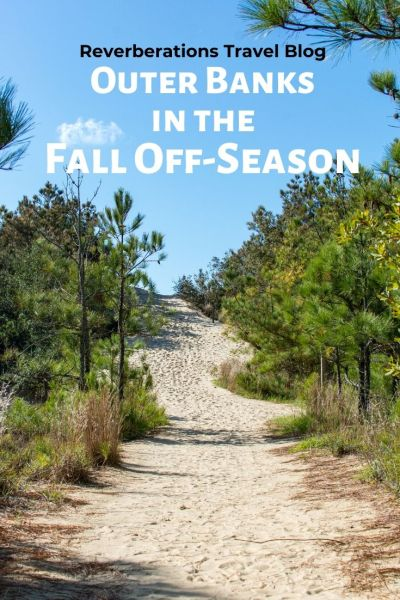A beach getaway to the Outer Banks in the fall off-season will surprise you with just how lovely the weather is and how much there is to do and eat! #outerbanks #obx #northcarolina #usa