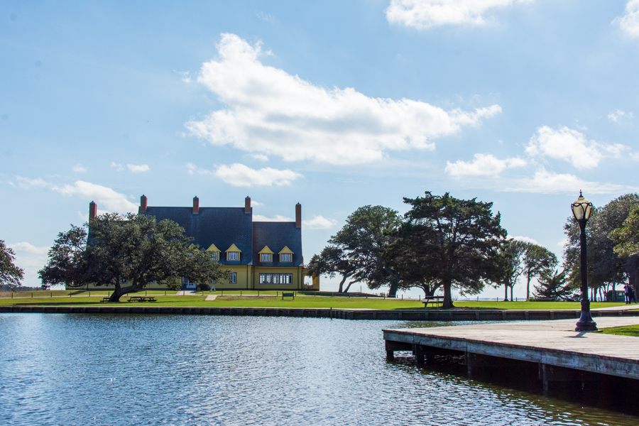 The Whalehead Club in North Carolina's Outer Banks.