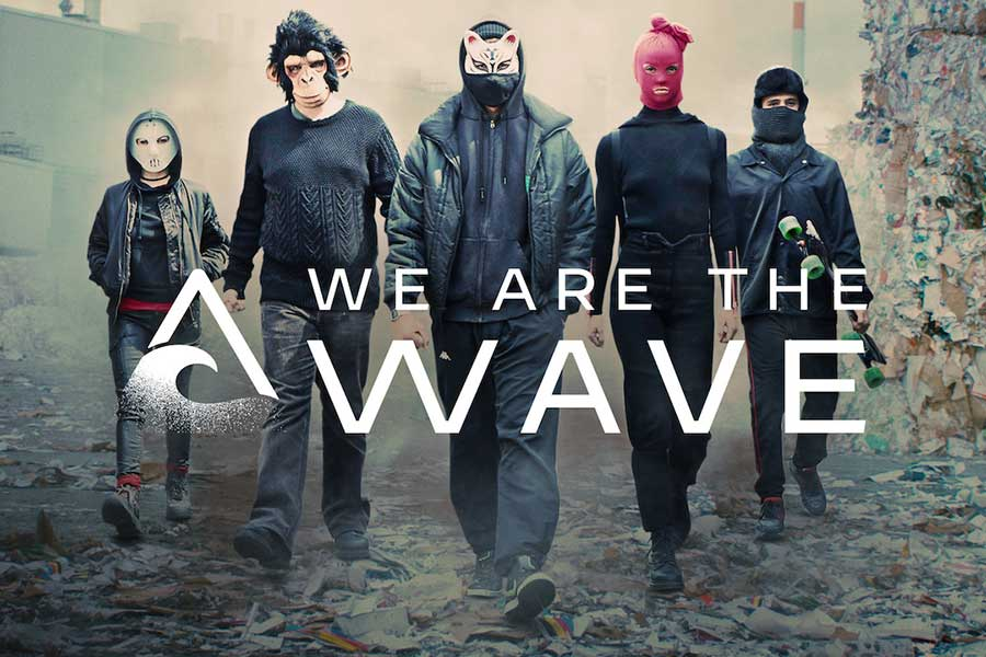 German shows on Netflix: We Are the Wave.