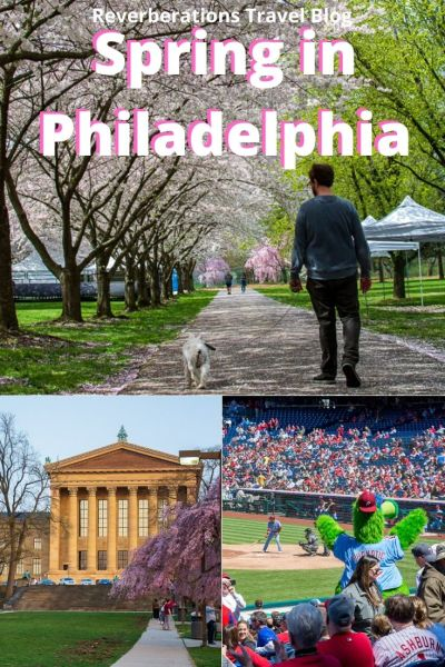 Spring in Philadelphia is full of fun. From the Philadelphia cherry blossom festival to dozens of gardens full of fresh plants (and don't forget baseball!), there are so many things to do. #philly #philadelphia #visitphilly #pennsylvania #usa