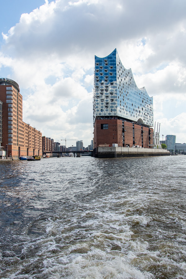 The striking Elbphilharmonie is a popular Hamburg attraction.
