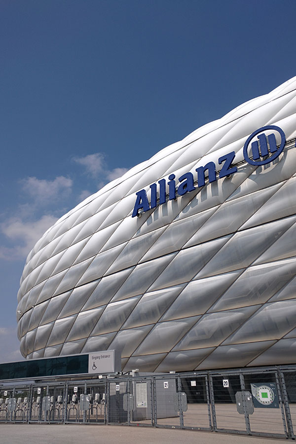The Allianz Arena offers tours and houses the FC Bayern museum in addition to hosting games and concerts.