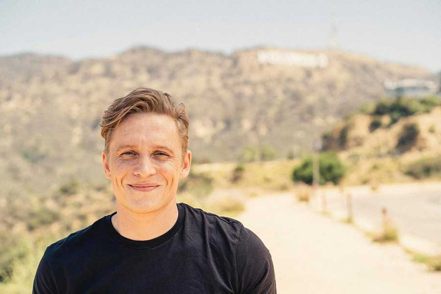 Learn German with the films and television of actor Matthias Schweighöfer!