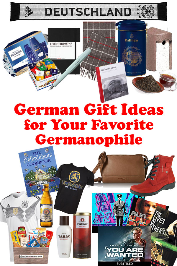 Searching for just the right gifts for German lovers? I have just the gift guide for you! Here are German gifts for your favorite Germanophile! #germany #travel #giftguide