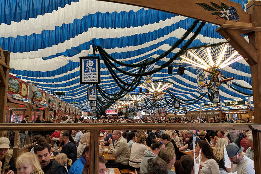 Munich beer festivals are an important Bavarian tradition.