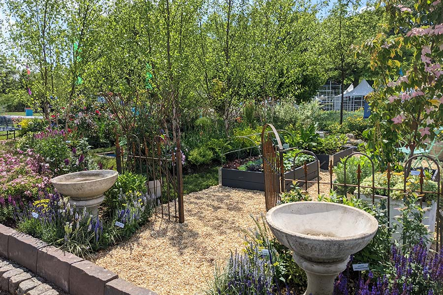 This French-inspired garden has an ease that will inspire visitors to the Philly Flower Show.