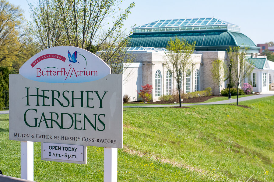 A visit to Hershey Gardens should be included on every list of things to do in Hershey, PA.