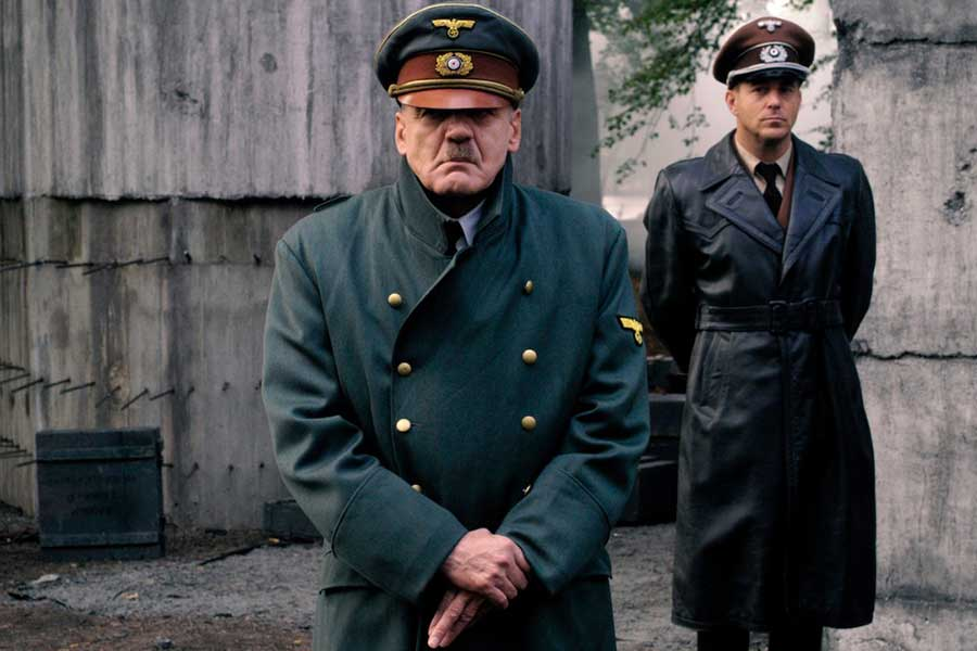 The acclaimed film Der Untergang follows Hitler's last days.