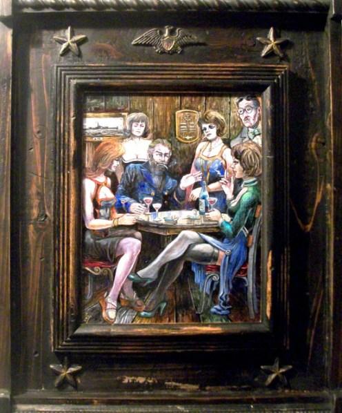 "Harold Fox ""Captains Table"""