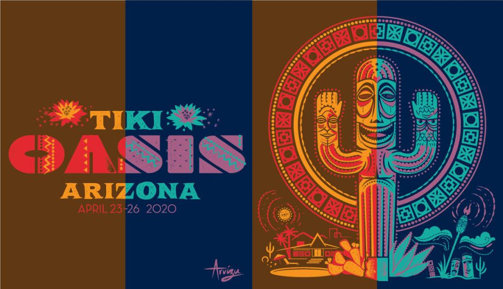 Arizona Tiki Oasis 2020 Graphic