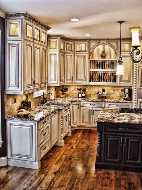 Bon Antique White Kitchens