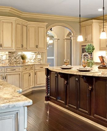 Merveilleux Best Wall Color For Antique White Kitchen Cabinets