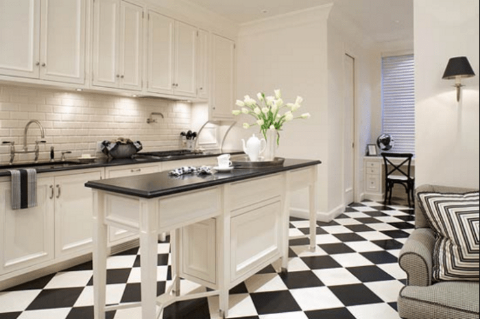 black and white kitchens pictures