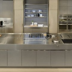 Metal Cabinets Kitchen Small Lighting Ideas 30 Style Photos Remodel And Decor Cabinet