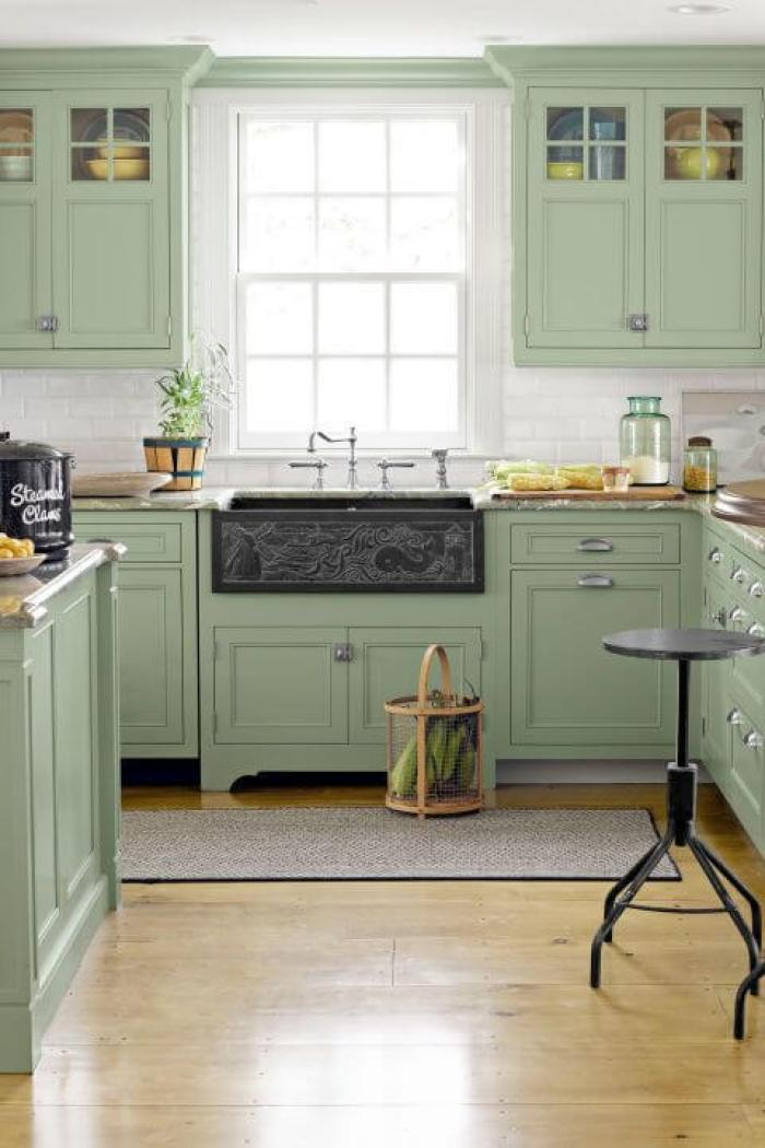Colors Green Kitchen Ideas 15+ green kitchen cabinets design, photos, ideas & inspiration