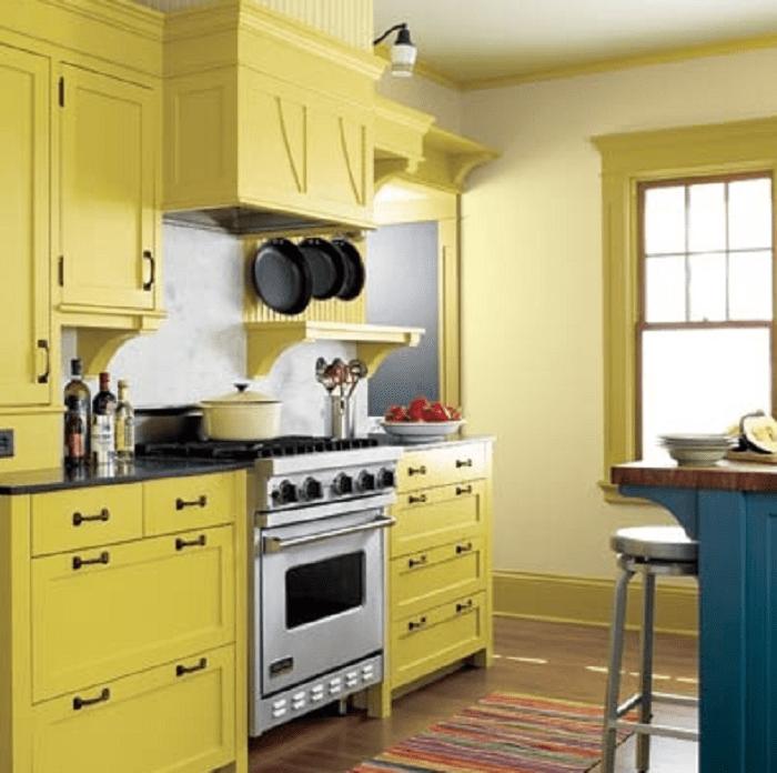 Yellow Kitchen Environment Canada