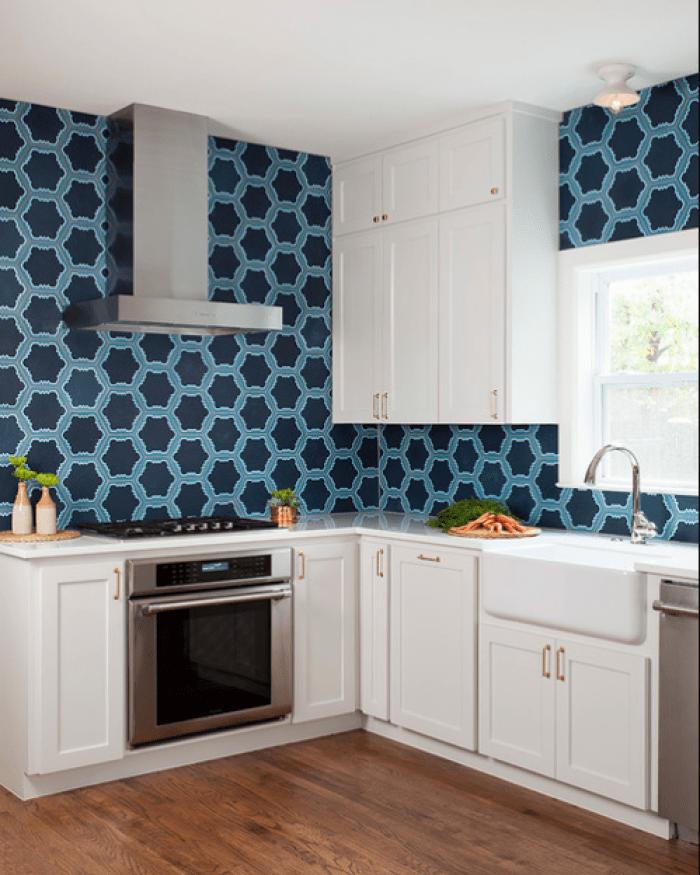 Midcentury L-shaped Kitchen Remodel