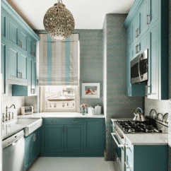 Metal Cabinets Kitchen High Top Table 30 Ideas Style Photos Remodel And Decor New York With Sink
