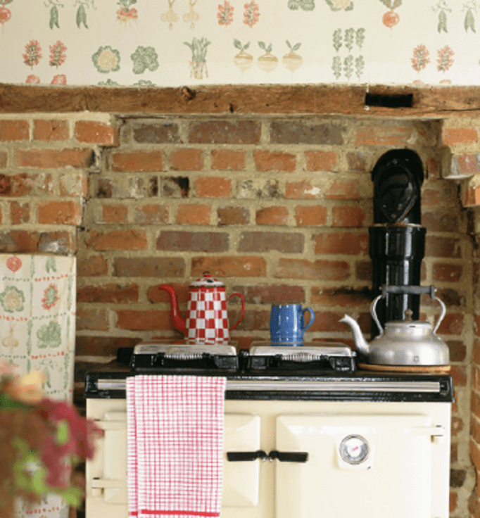 traditional kitchen wallpaper