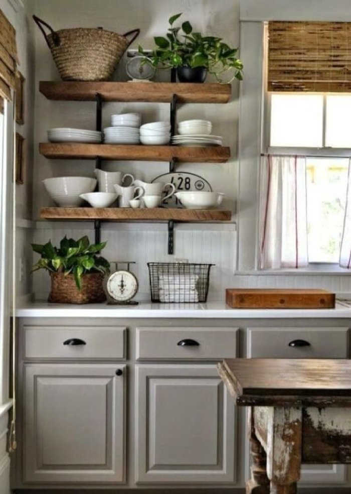 antique white cabinet paint - 25 Antique White Kitchen Cabinets Ideas That Blow Your Mind - Reverb