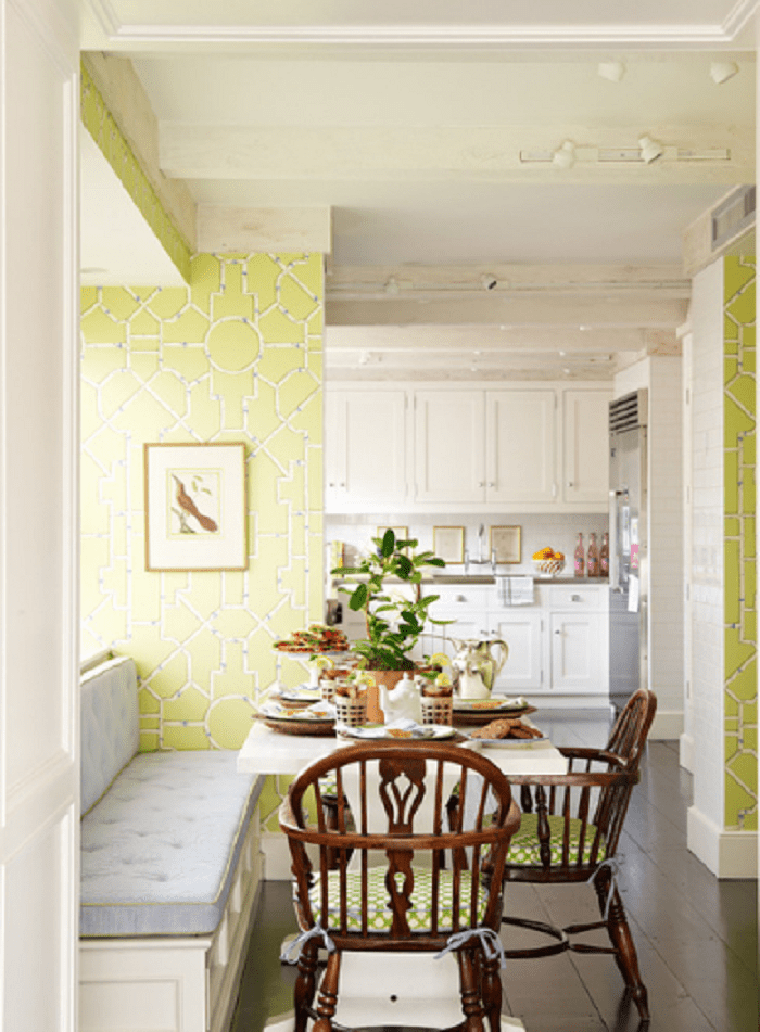 35 Kitchen Wallpaper With The Best Design And Ideas For Your Home