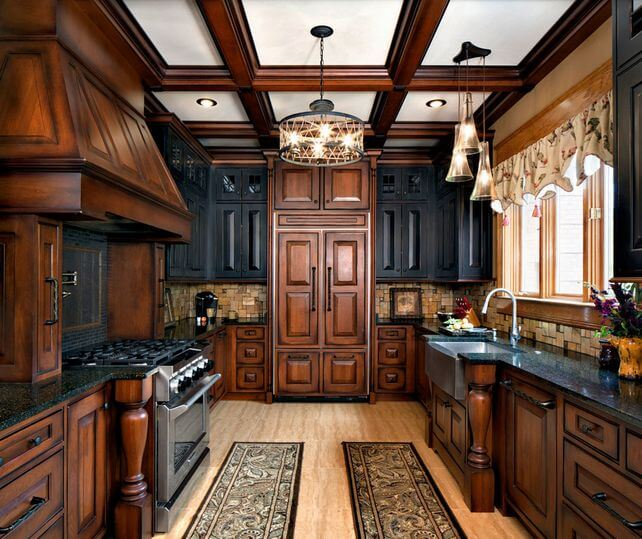 Kitchen Cabinet Doors Different Color Than Frame: 10+ Fashionable Two Tone Kitchen Cabinets