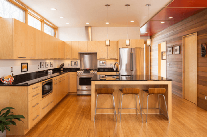 l shaped kitchen designs with island