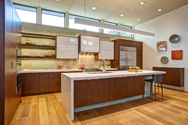 Genial Mid Century Modern Kitchen Design
