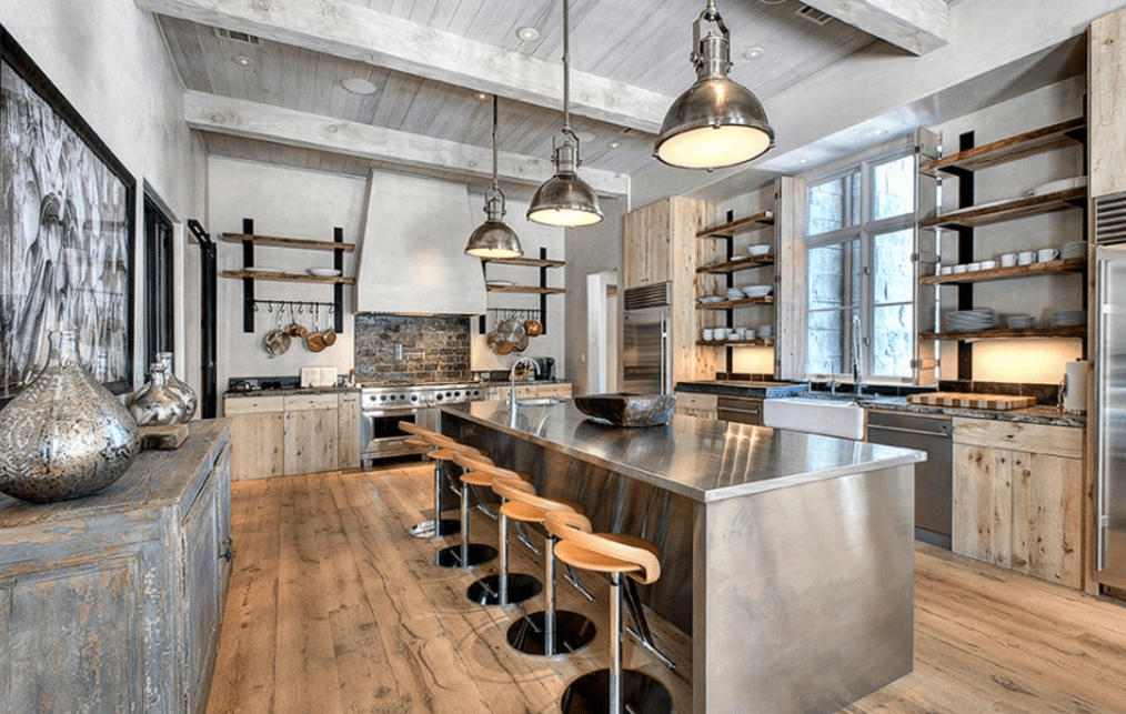 The Best Wood For Rustic Kitchen Cabinets