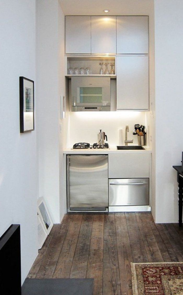 small space kitchen - Simple Kitchen Ideas