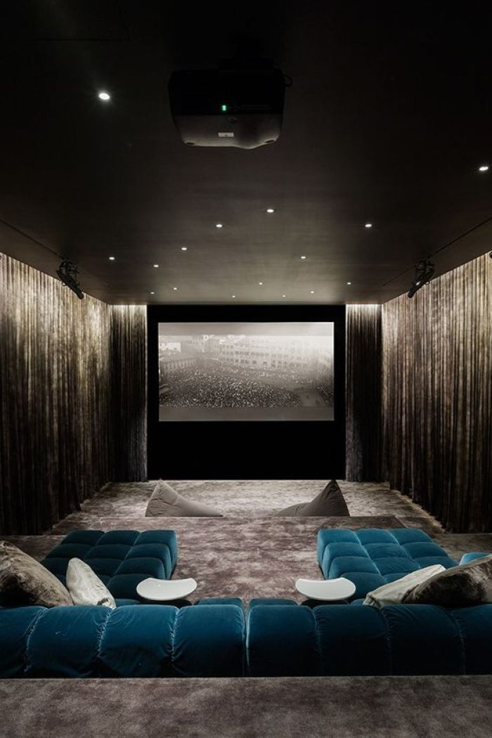 27 cool basement home theater ready to entertain reverb Home theater colors
