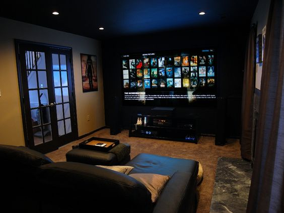 Basement Home Theater Lighting Ideas