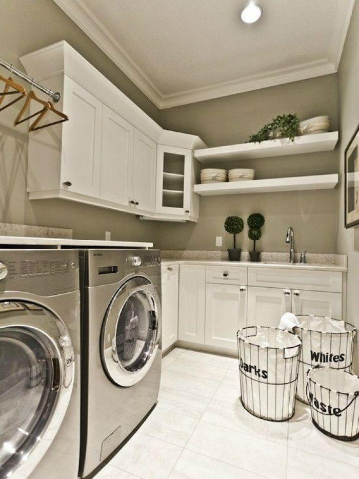 Fun Laundry Room Paint