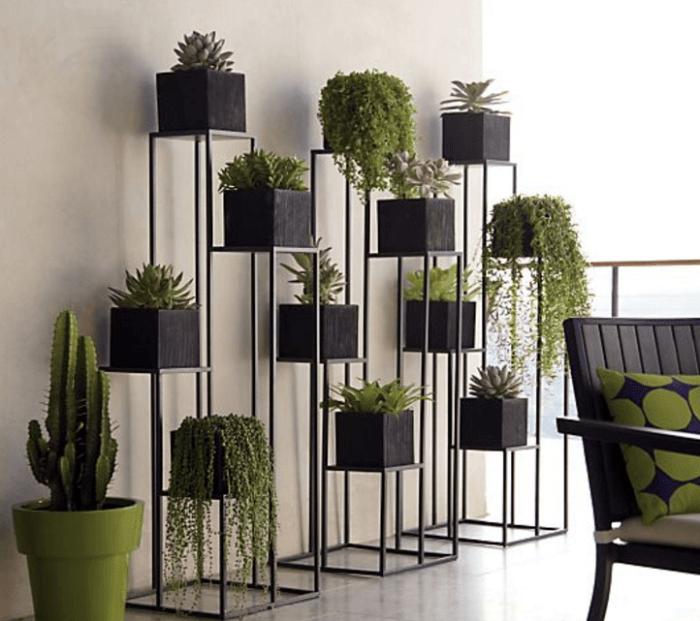 mid century modern planter