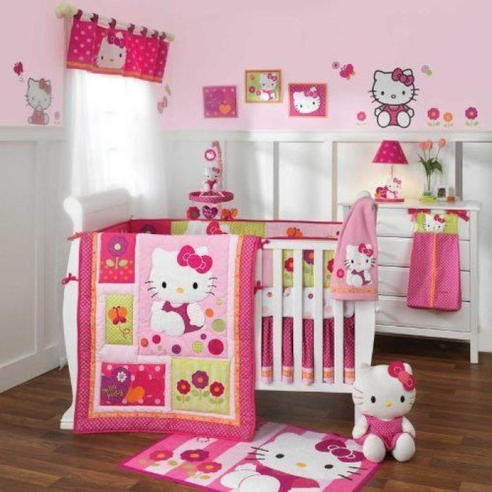 Hello Kitty Baby Room ideas