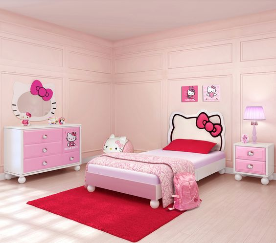 Charmant Hello Kitty Bedroom Decoration Concepts