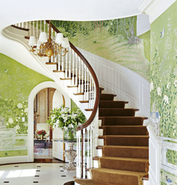 Painted Stair Ideas: 21 Attractive Painted Stairs Ideas