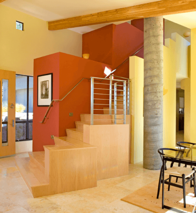 ≫21 Attractive Painted Stairs Ideas Pictures   Painting ...