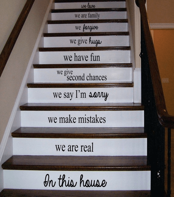 ≫21 Attractive Painted Stairs Ideas Pictures