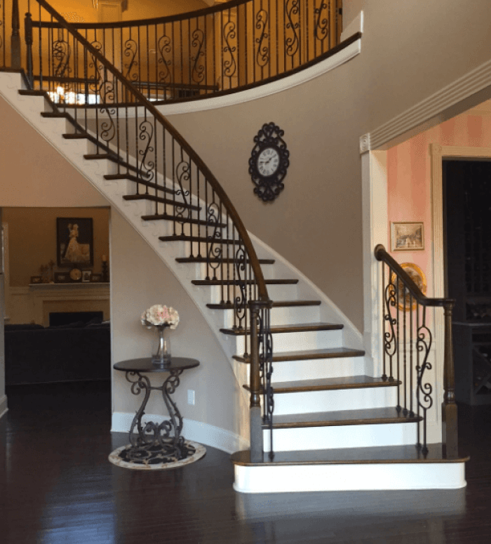 21 Staircase Lighting Design Ideas Pictures: ≫21 Attractive Painted Stairs Ideas Pictures