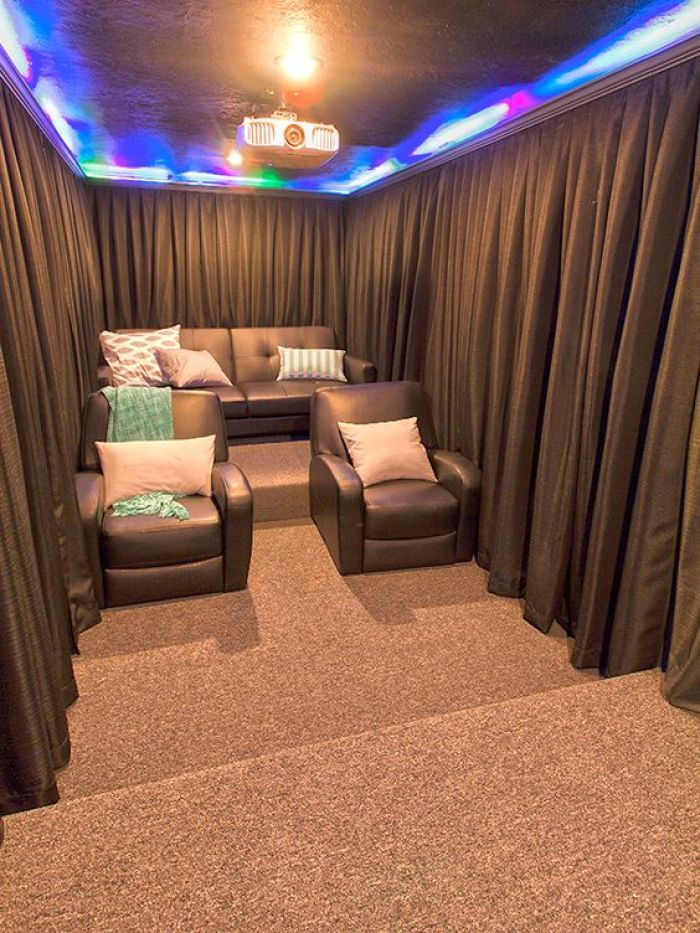 Cellar Bar as well as Home Theater