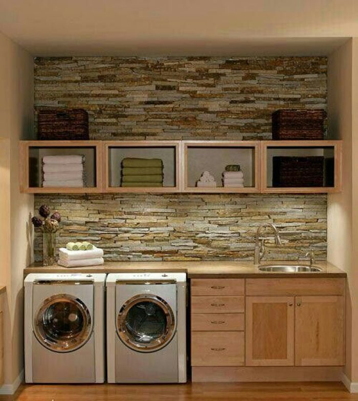 22 amazing basement laundry room ideas that ll make you love. Black Bedroom Furniture Sets. Home Design Ideas