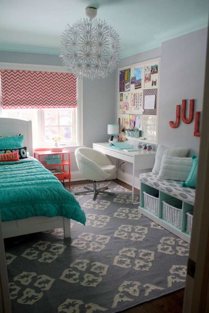 Gray And Turquoise Bedroom. turquoise bedroom 18 Turquoise Room Ideas You Can Apply in Your Home  Reverb