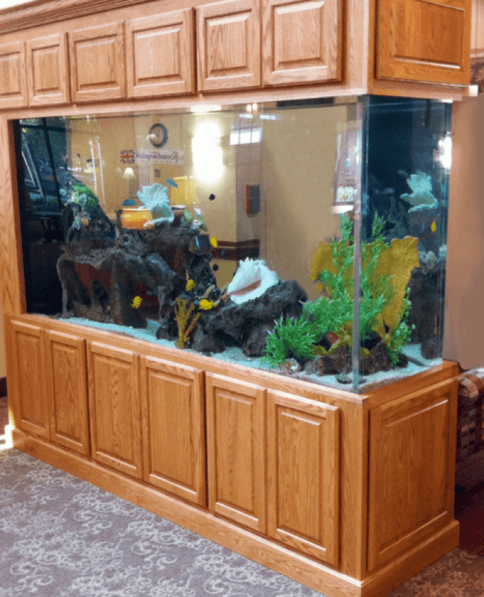Aquarium Furniture Stand With Storage Ideas