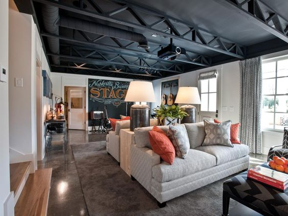 Basement Rec Room Ideas & The Best Classy Recreation Room Ideas for a Stress-Relief-Time at ...